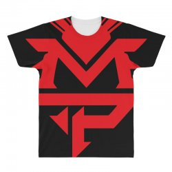manny pacquiao red mp logo boxer sports All Over Men's T-shirt | Artistshot