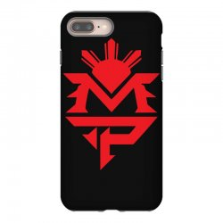 manny pacquiao red mp logo boxer sports iPhone 8 Plus Case | Artistshot