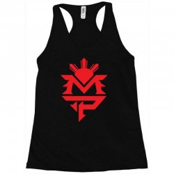 manny pacquiao red mp logo boxer sports Racerback Tank | Artistshot