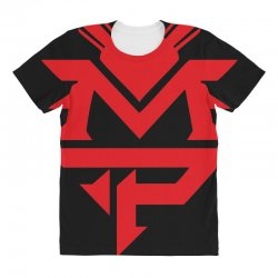 manny pacquiao red mp logo boxer sports All Over Women's T-shirt | Artistshot