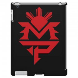 manny pacquiao red mp logo boxer sports iPad 3 and 4 Case | Artistshot