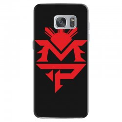 manny pacquiao red mp logo boxer sports Samsung Galaxy S7 Case | Artistshot