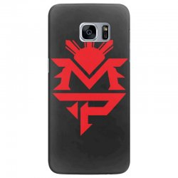 manny pacquiao red mp logo boxer sports Samsung Galaxy S7 Edge Case | Artistshot