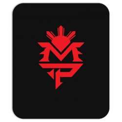 manny pacquiao red mp logo boxer sports Mousepad | Artistshot
