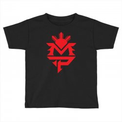 manny pacquiao red mp logo boxer sports Toddler T-shirt | Artistshot