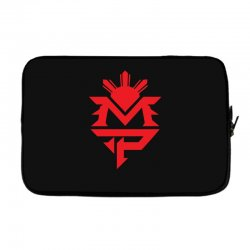 manny pacquiao red mp logo boxer sports Laptop sleeve | Artistshot