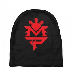 manny pacquiao red mp logo boxer sports Baby Beanies | Artistshot