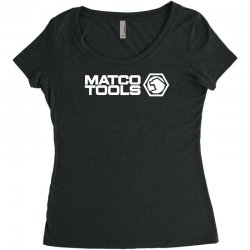 matco tools logo Women's Triblend Scoop T-shirt | Artistshot