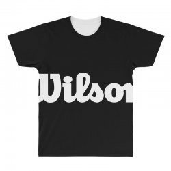 wilson white logo All Over Men's T-shirt | Artistshot