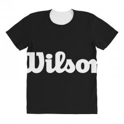 wilson white logo All Over Women's T-shirt | Artistshot