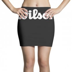 wilson white logo Mini Skirts | Artistshot