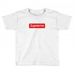 supreme logo Toddler T-shirt | Artistshot