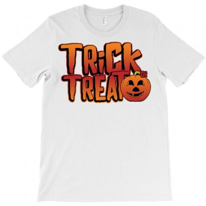 Trick Or Treat T-shirt Designed By Oz