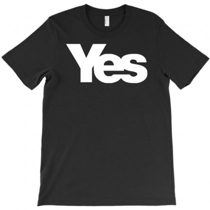 Vote Yes For Scotland Scottish Independence T-shirt Designed By Mdk Art