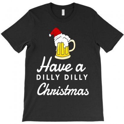 Dilly Crown Christmas Beer Shirts Dilly True Friend Of The Crown T-shirt Designed By Republic Of Design