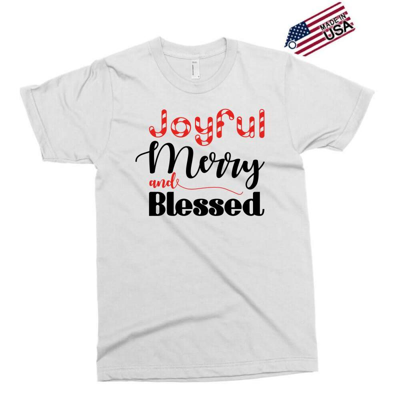 c89f3339c49b4 Custom Joyful Merry And Blessed Exclusive T-shirt By Nurbetulk ...