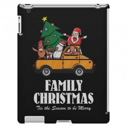 family christmas tis the season to be merry iPad 3 and 4 Case | Artistshot