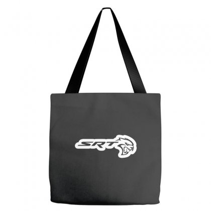 Srt Hellcat Tote Bags Designed By Yellow Star