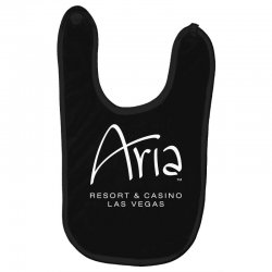 Aria resort and casino Las Vegas Baby Bibs | Artistshot