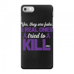 yes,they are fake. my real ones tried to kill me pancreatic cancer iPhone 7 Case | Artistshot