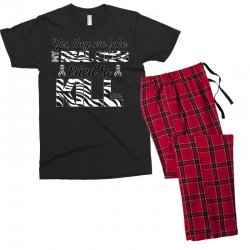 yes, they are fake. my real ones tried to kill me carcinoid cancer Men's T-shirt Pajama Set | Artistshot