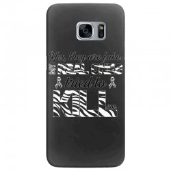 yes, they are fake. my real ones tried to kill me carcinoid cancer Samsung Galaxy S7 Edge Case | Artistshot