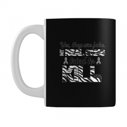 yes, they are fake. my real ones tried to kill me carcinoid cancer Mug | Artistshot