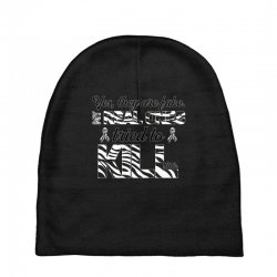 yes, they are fake. my real ones tried to kill me carcinoid cancer Baby Beanies | Artistshot