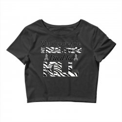 yes, they are fake. my real ones tried to kill me carcinoid cancer Crop Top | Artistshot