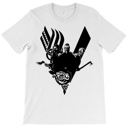 Vikings Ragnar Lothbrok T-shirt Designed By Sbm052017