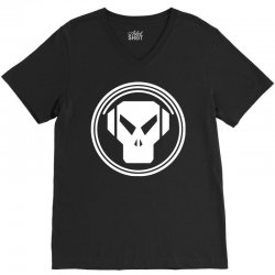 black long metalheadz V-Neck Tee | Artistshot