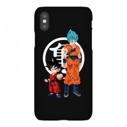 goku and super saiyan iPhoneX Case | Artistshot