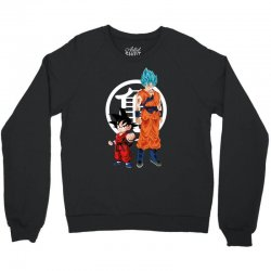 goku and super saiyan Crewneck Sweatshirt | Artistshot