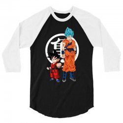 goku and super saiyan 3/4 Sleeve Shirt | Artistshot