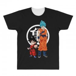 goku and super saiyan All Over Men's T-shirt | Artistshot
