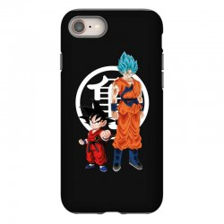 goku and super saiyan iPhone 8 Case | Artistshot