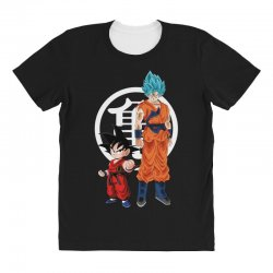 goku and super saiyan All Over Women's T-shirt | Artistshot