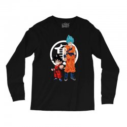 goku and super saiyan Long Sleeve Shirts | Artistshot