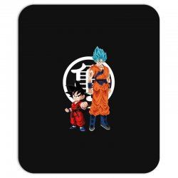 goku and super saiyan Mousepad | Artistshot