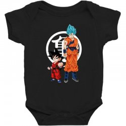 goku and super saiyan Baby Bodysuit | Artistshot