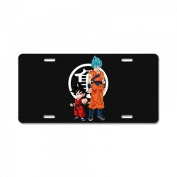 goku and super saiyan License Plate | Artistshot