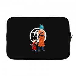goku and super saiyan Laptop sleeve | Artistshot