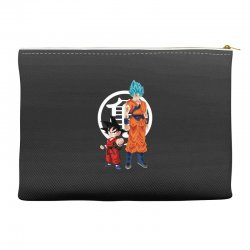 goku and super saiyan Accessory Pouches | Artistshot