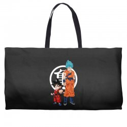 goku and super saiyan Weekender Totes | Artistshot