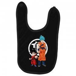 goku and super saiyan Baby Bibs | Artistshot