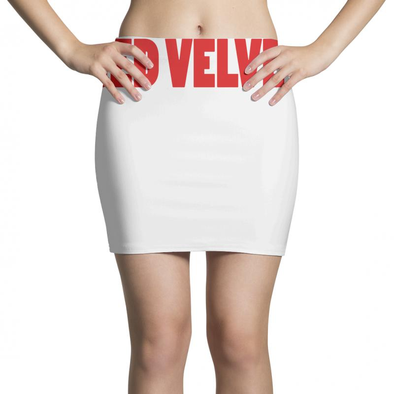 00fa3dfe8c1bf Custom Red Velvet Mini Skirts By All - Artistshot