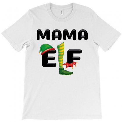 Mama Elf T-shirt Designed By Nurbetulk