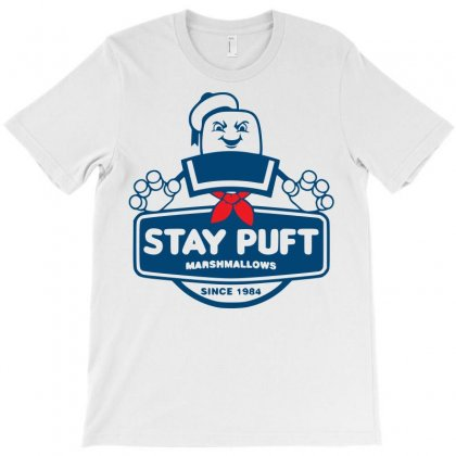 Stay Puft Marshmallow T-shirt Designed By Sbm052017