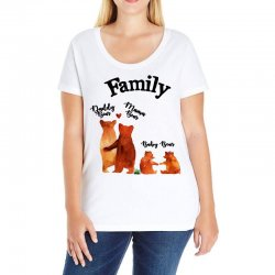 family bears Ladies Curvy T-Shirt | Artistshot