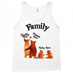 family bears Tank Top | Artistshot
